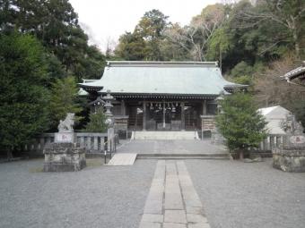 川匂神社本殿200114