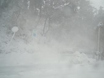 表丹沢林道入り口200118