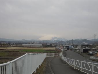 今朝の富士山200127