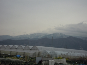 午後からの丹沢方面200127