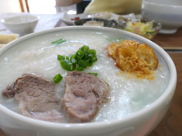 豚の中華粥
