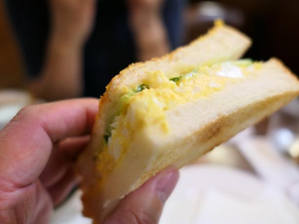 玉子トーストサンド