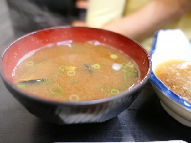 蜆の味噌汁