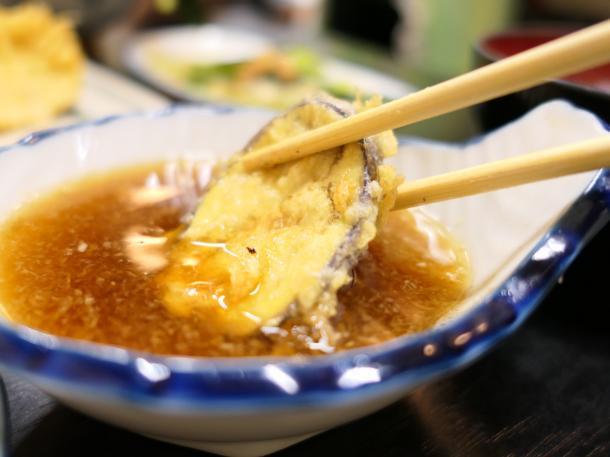 茄子天ぷら