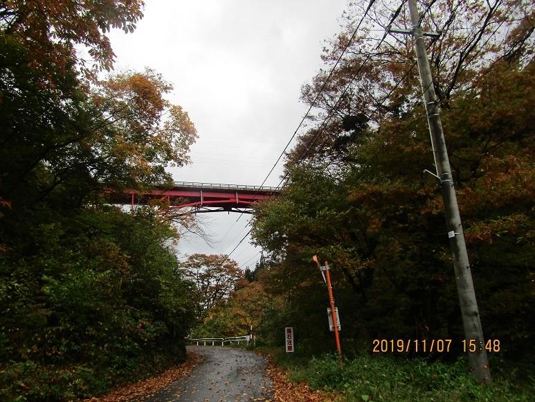 小入川鉄橋、紅葉5