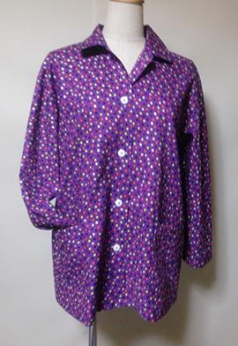 上衣出来ました パジャマ