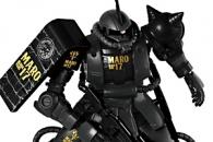 MARO17オリジナル 黒いシャア専用ザク (1)t