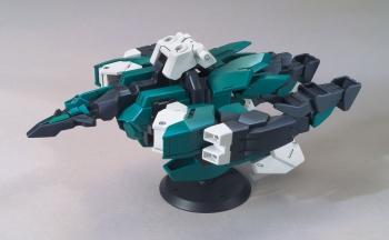 HGBDR コアガンダム(G-3カラー)&ヴィートルーユニット (6)