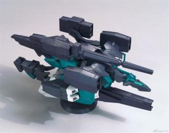 HGBDR コアガンダム(G-3カラー)&ヴィートルーユニット (2)