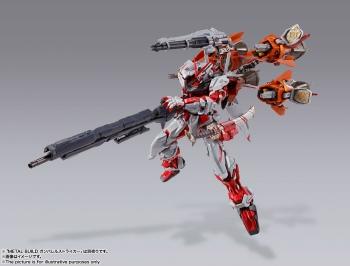METAL BUILD ガンダムアストレイ レッドフレーム改(オルタナティブストライク ver.) (4)