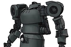 135 IV号人型重機(連合国仕様) ストレートブラックVer. [cavico models]t