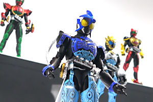 S.H.Figuarts 仮面ライダーオーズ シャウタ コンボ、S.H.Figuarts 仮面ライダーオーズ サゴーゾ コンボt