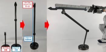 機動戦士ガンダム Gフレーム ガンダム TR-1[ヘイズル改]オプションパーツセット (1)