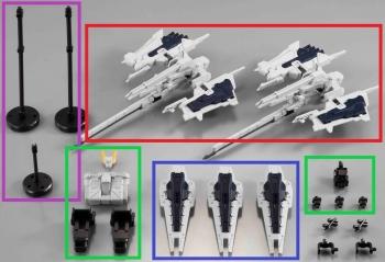 機動戦士ガンダム Gフレーム ガンダム TR-1[ヘイズル改]オプションパーツセット (8)