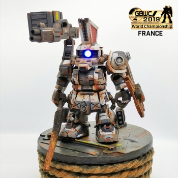 GUNPLA BUILDERS WORLD CUP 2019 FRANCE RESULT SD