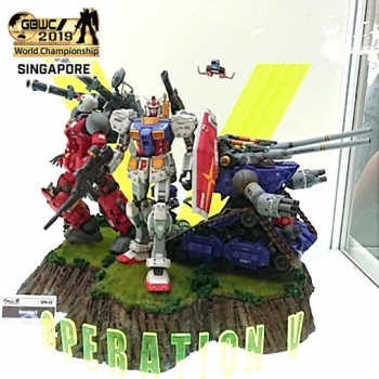 OPEN COURSE GROUP B CHAMPION -GBWC2019 FINALIST- (2)