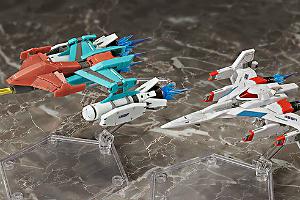 figma Galaxian Galaxip GFX-D001a Galaga Fighter GFX-D002ft
