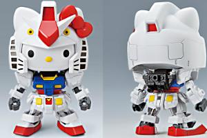 ハローキティRX-78-2ガンダム[SD EX-STANDARD]t