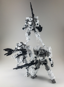30MM 1144 bEXM-15 ポルタノヴァ(宇宙仕様)[グレー] (1)