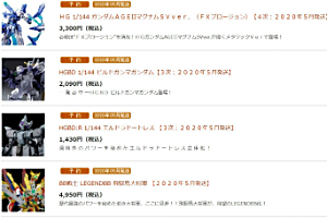 「BB戦士 LEGENDBB 新世大将軍【2020年5月発送】」など5点 127(月)11時より受注開始!t
