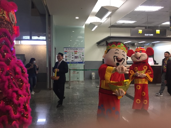 台湾の獅子舞6