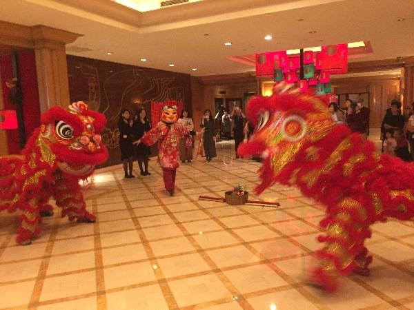 台湾の獅子舞1