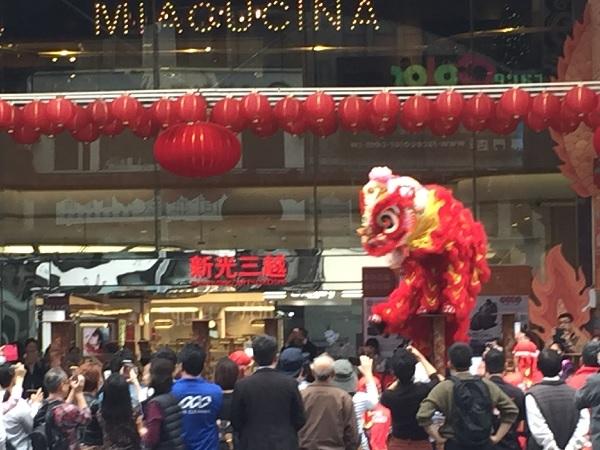 台湾の獅子舞2