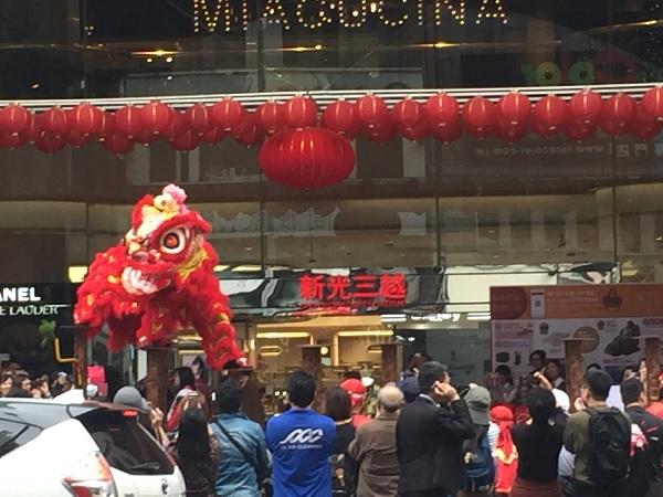 台湾の獅子舞3