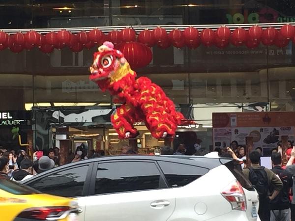台湾の獅子舞4