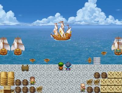 帆船キャラチップ使用例1new