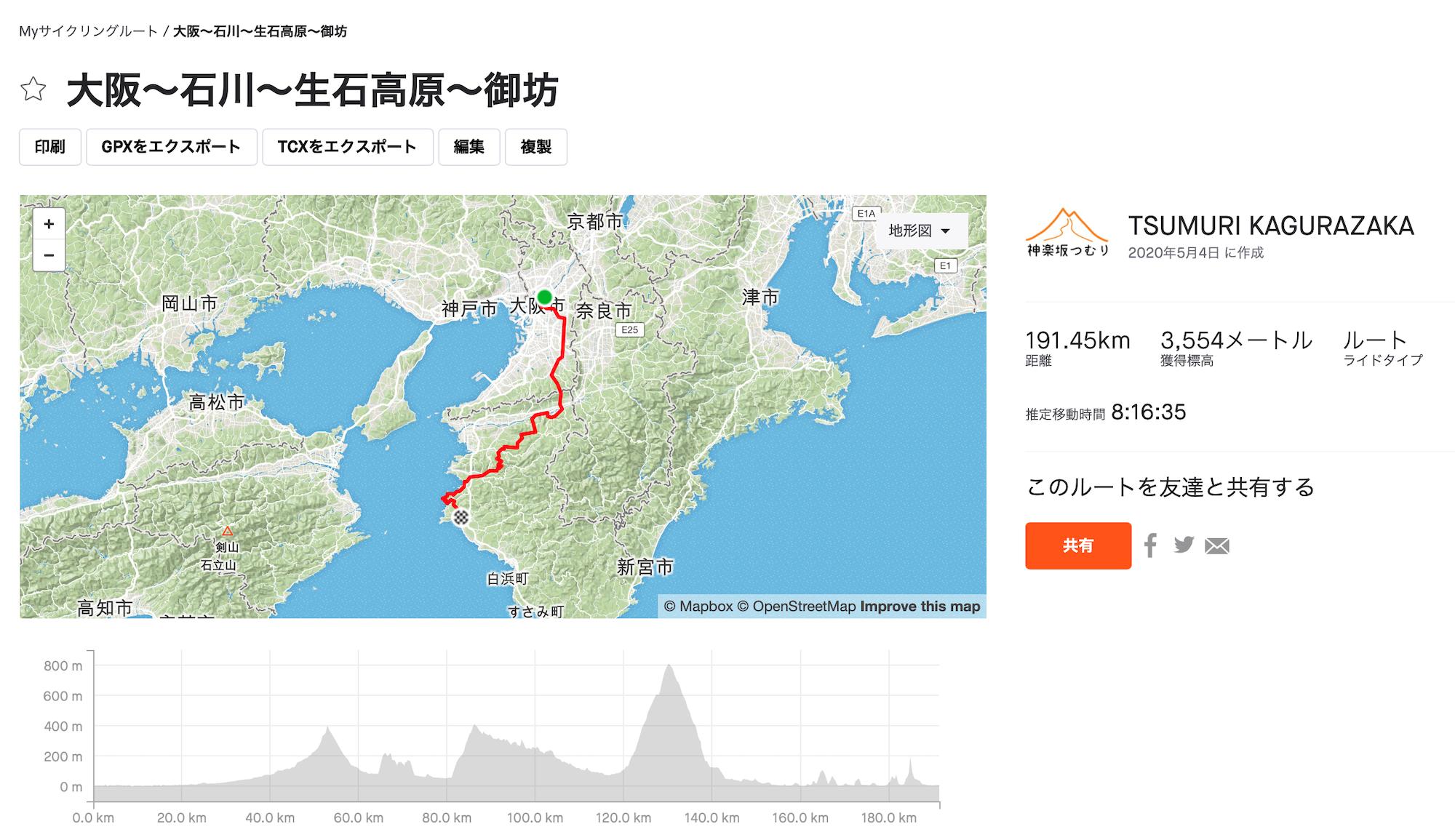 route wakayama