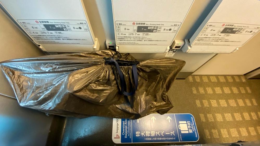 特大荷物スペースつき座席-12