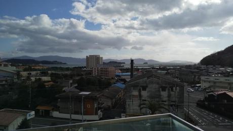 瀬戸内市立美術館からの眺め