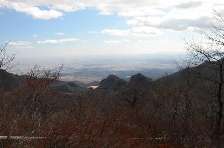 榛名富士頂上からの風景1