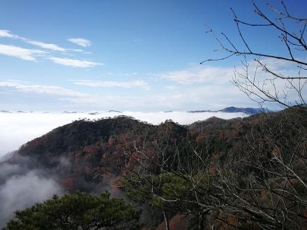 三床山登山道から1