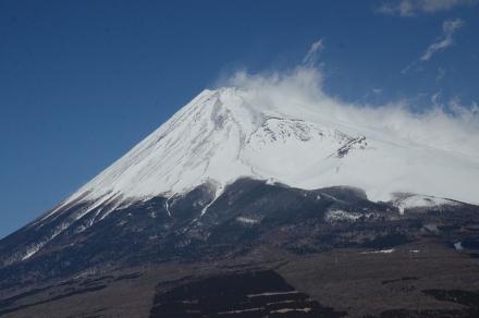 越前岳馬の背見晴台から富士山2