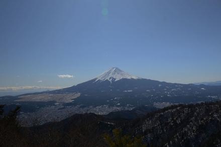 三ツ峠頂上から富士山1