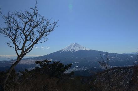 三ツ峠頂上から富士山2