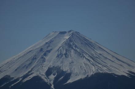 三ツ峠頂上から富士山4