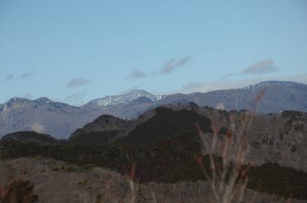 袈裟丸山、皇海山、庚申山