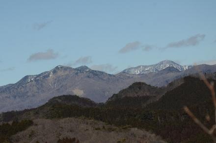 袈裟丸山、皇海山