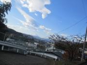 2019/12/1弘法山公園付近の急坂