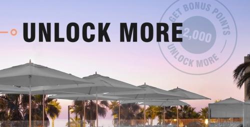 マリオットボンボイ 「Unlock More」ボーナスポイントキャンペーン