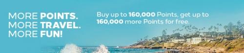 ヒルトンオナーズ ポイント購入で100%のボーナスポイントキャンペーン1