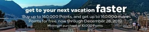 ヒルトン・オナーズのポイント購入キャンペーン 100%ボーナス_ 購入限度額が2倍