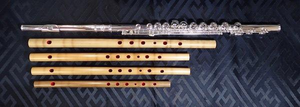 フルートと竹笛①