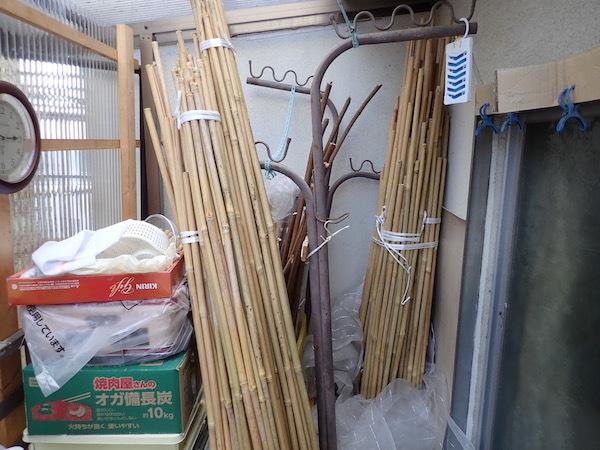 竹の「棚卸し」