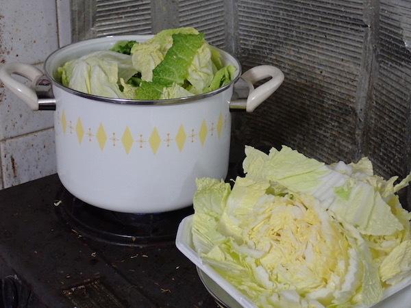 冬の定番料理「豚白菜」