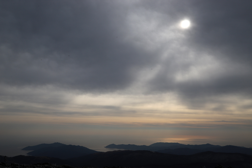 20191222五葉山山頂から見た太平洋