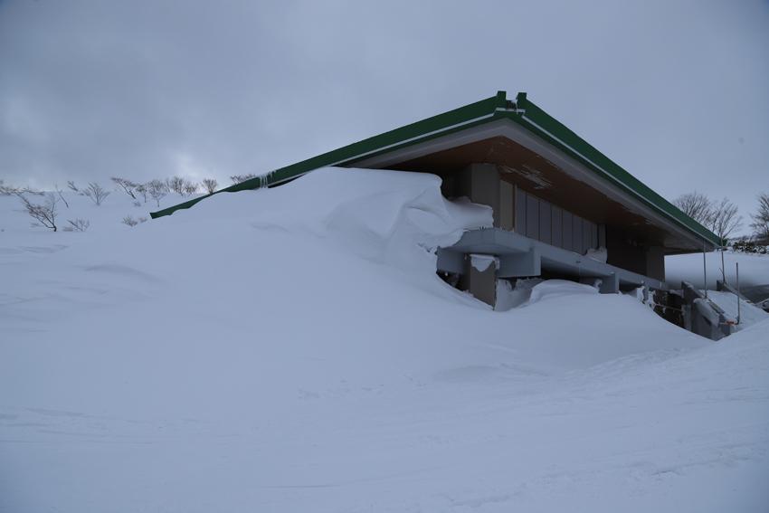 20200229栗駒山のレストハウス